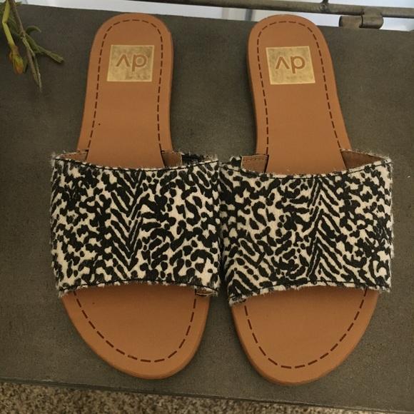 dccf02845ea7 Dolce Vita Shoes - Dolce vita slides, animal print size 6